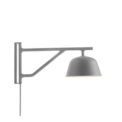 AMBIT Wall Lamp, Grey