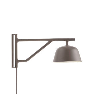 AMBIT Wall Lamp, Taupe