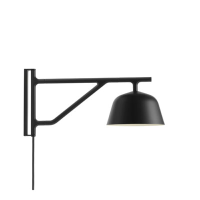 AMBIT Wall Lamp, Black