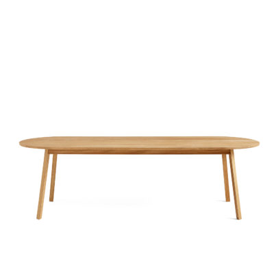 TRIANGLE LEG Table Oiled Solid Oak, L250