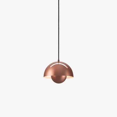 FLOWERPOT VP1, Polished Copper