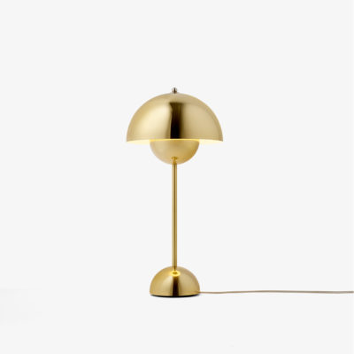 FLOWERPOT VP3, Polished Brass