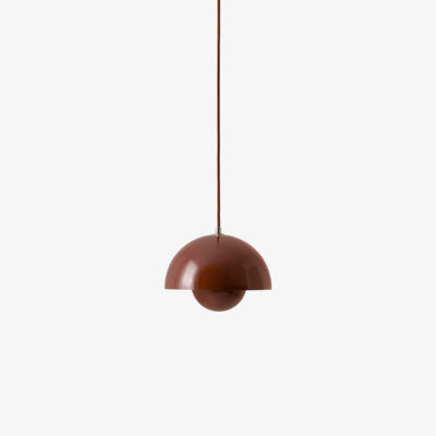 FLOWERPOT VP1, Red Brown