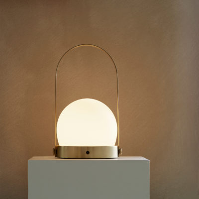 CARRIE Led Lamp, Brass
