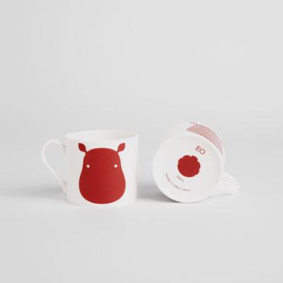 ANIMAL Mug, Hippo