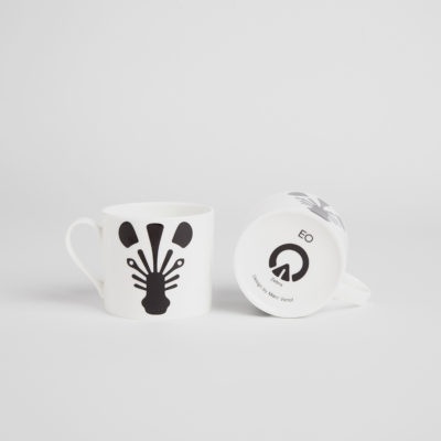 ANIMAL Mug, Zebra