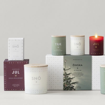 ÖNSKA Scented Candle, Gift Set