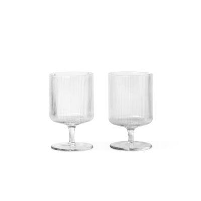 RIPPLE Wine Glasses, set of 2