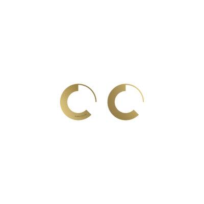 BOLD Earrings Minus Round