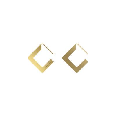 BOLD Earrings Minus Square