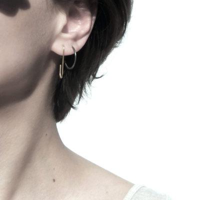 THINNER Earrings Minus Square