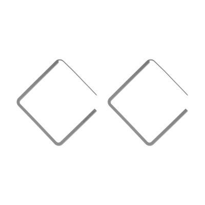 THINNER Earrings Square
