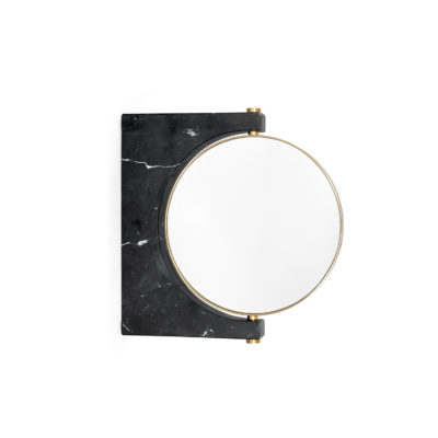 PEPE Marble Mirror Wall, Black