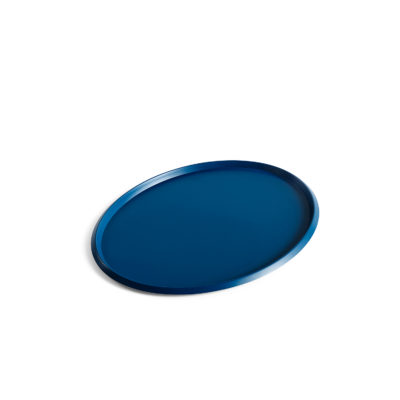 ELLIPSE Tray, L Dark Blue
