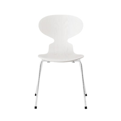 ANT™ 3101 Chair, Coloured Ash, White