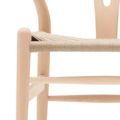 CH24 WISHBONE Chair, Beech Soap – Natural