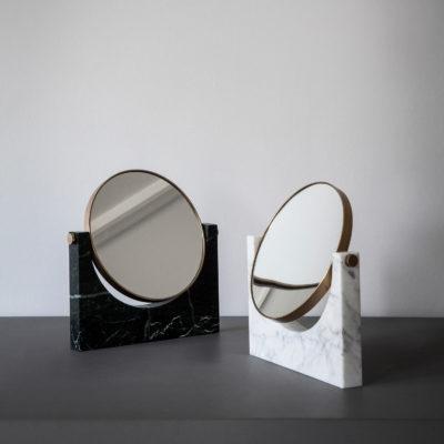 PEPE Marble Mirror Wall, Black