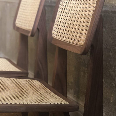 C Chair, All French Cane