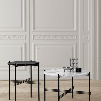 TS Coffee Table, Black Marquina Marble