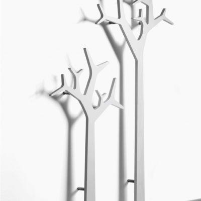 Tree, Wall 194, White
