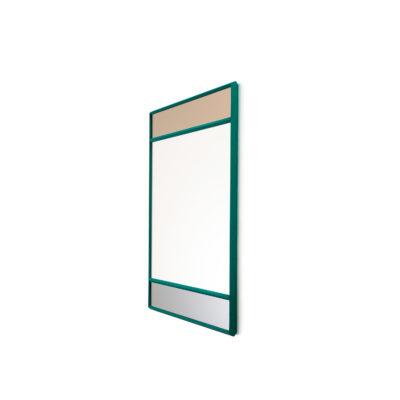 Vitrail Mirror, Green