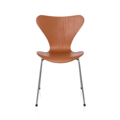 SERIES 7™ 3107 Chair, Coloured Ash, Chevalier Orange