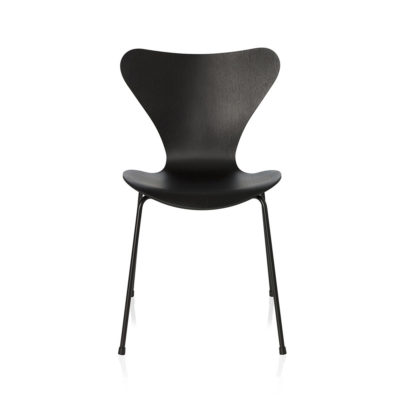SERIES 7™ 3107 Chair, Monochrome, Coloured Ash, Black