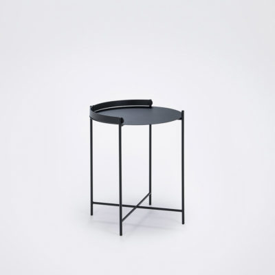 EDGE Tray Table Ø46 , Black
