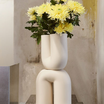KINK Vase, Sand