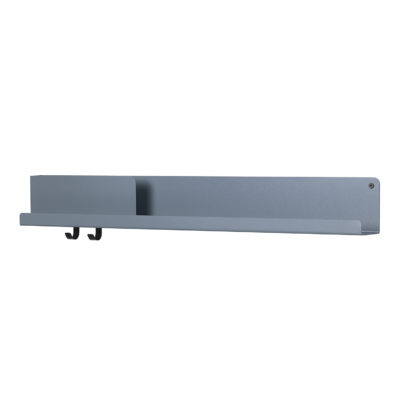 FOLDED Shelf Large, Blue Grey