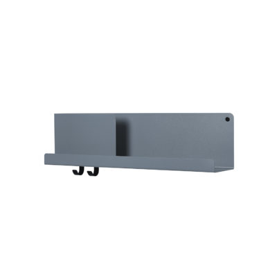 FOLDED Shelf Medium, Blue Grey