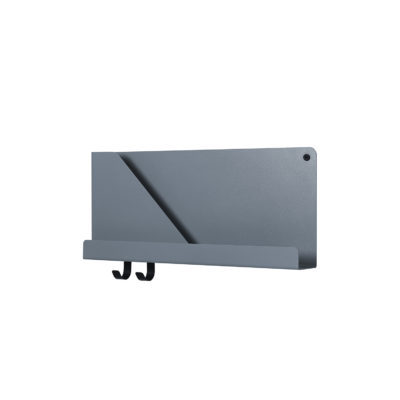 FOLDED Shelf Small, Blue Grey