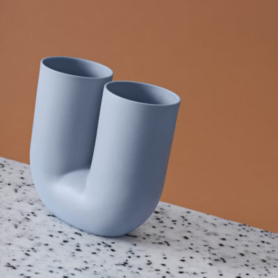 KINK Vase, Light Blue