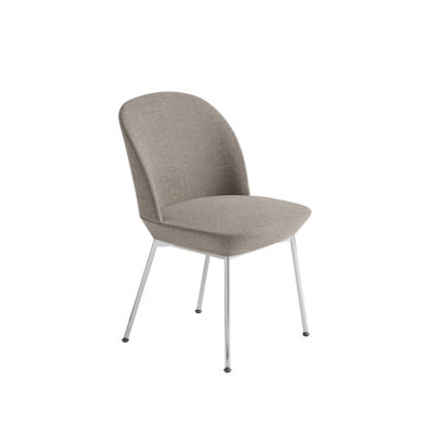 OSLO Side Chair, Chrome / Ocean 32