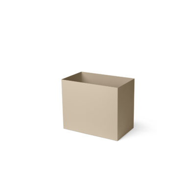 PLANT BOX POT, Cashmere