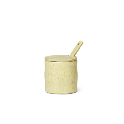 FLOW Jar, Yellow Speckle