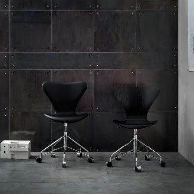 SERIES 7™ 3117 Swivel Chair, Leather Black