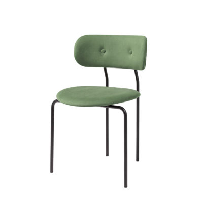 COCO Dining Chair, Velluto Green