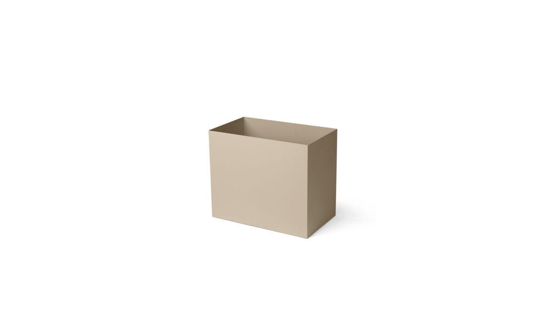 PLANT BOX POT, Cashmere