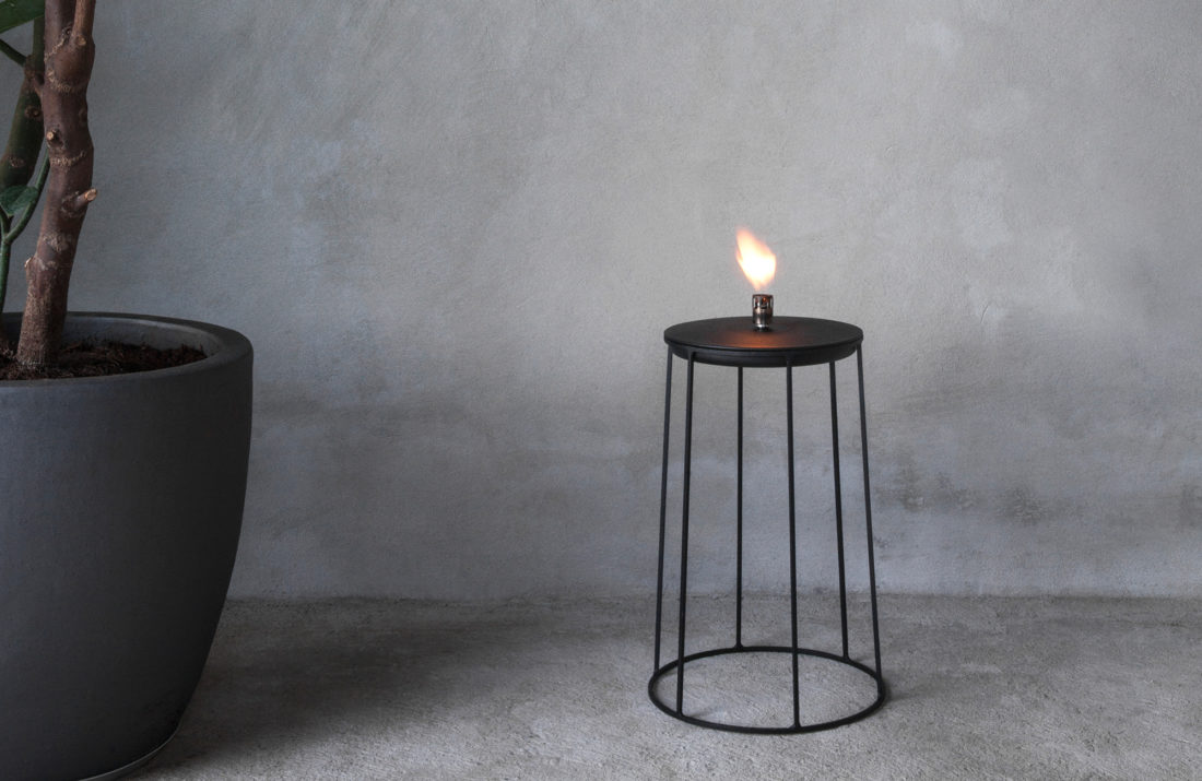 WIRE Disk Oil Lamp Top
