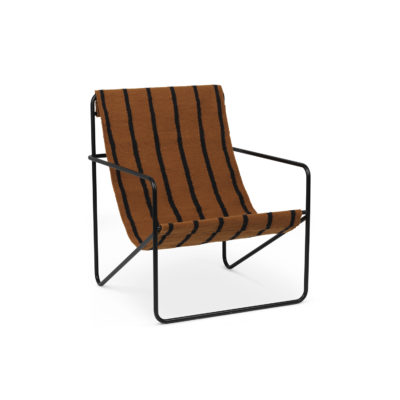 DESERT Lounge Chair, Stripes