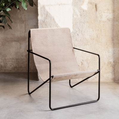 DESERT Lounge Chair, Solid Cashmere