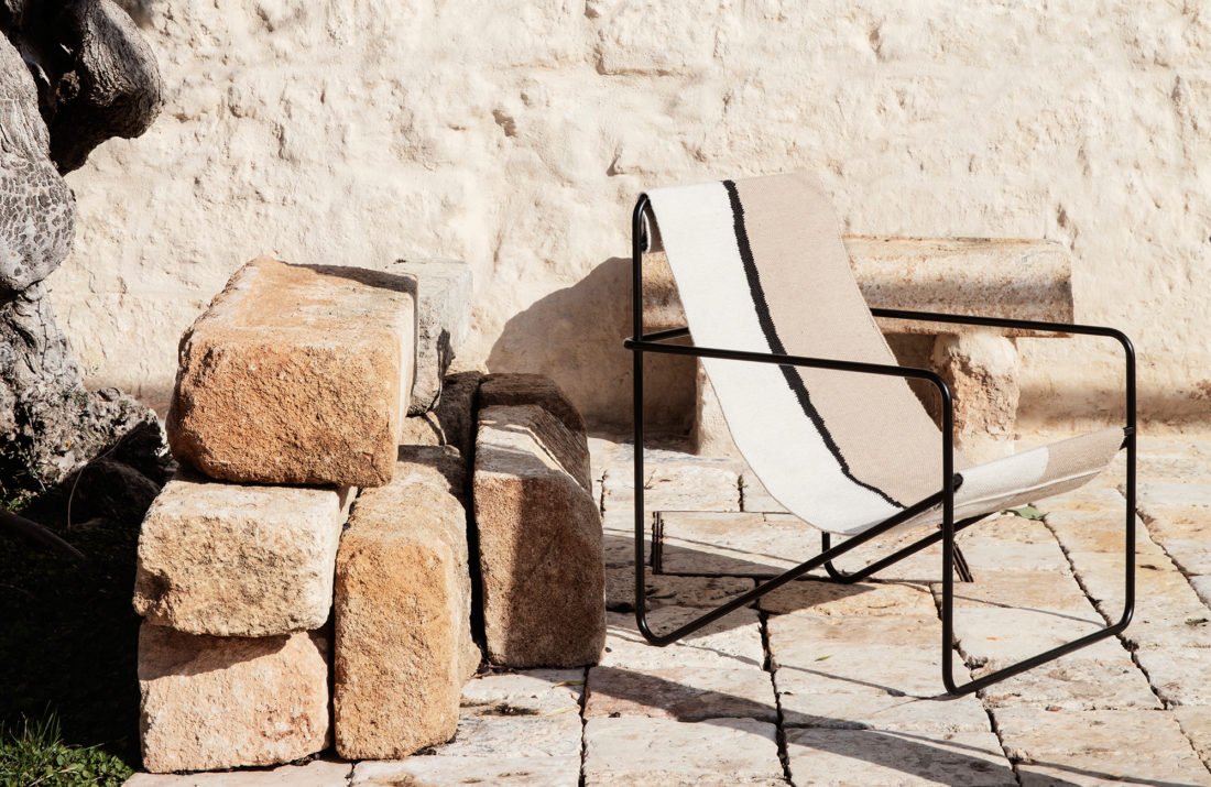 DESERT Lounge Chair, Soil