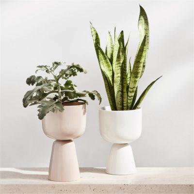 NAPPULA Plant Pot L, Beige