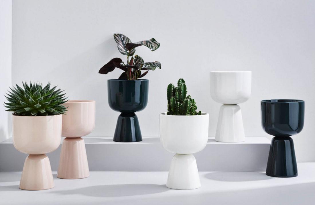 NAPPULA Plant Pot S, White