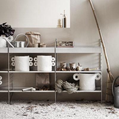 STRING Shelves Galvanized