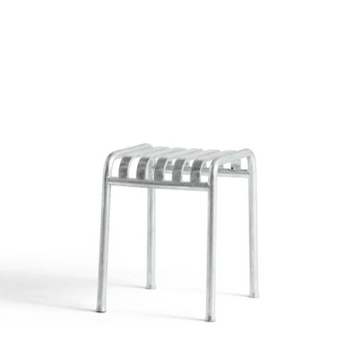PALISSADE Stool, Hot Galvanised