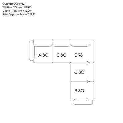 IN SITU Modular Sofa, Corner
