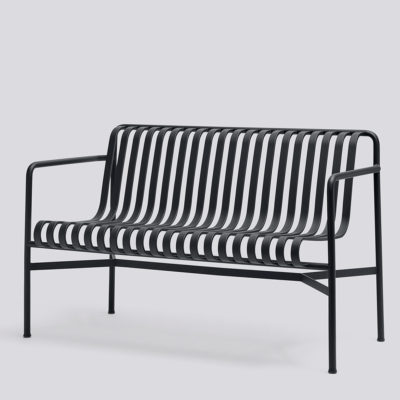 PALISSADE Dining Bench, Anthracite