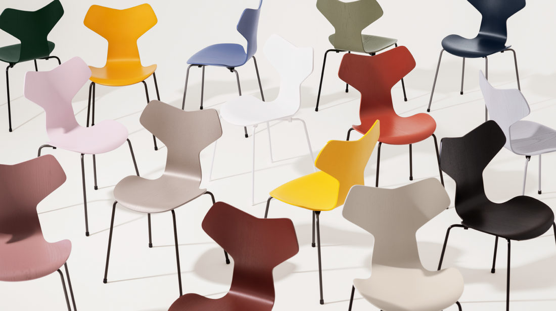 GRAND PRIX™ 3130 Chair, Nine Grey Base